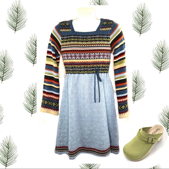 Hanna Andersson Other - Hannah Anderson  Girls 7  Long Sleeve Knit Dress